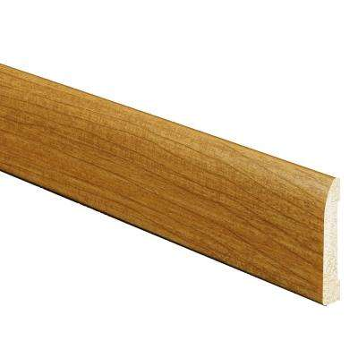5/16 in. x 2-3/8 in. x 96 in. Polystyrene Russet Base Moulding (5-Pack)