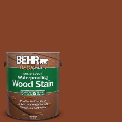 1 gal. #SC-142 Cappuccino Solid Color Waterproofing Wood Stain