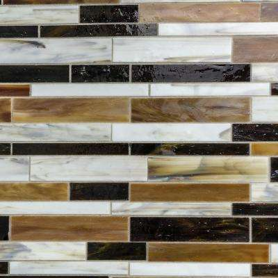 Matchstix Mockingbird 12 in. x 12 in. x 3 mm Glass Floor and Wall Tile
