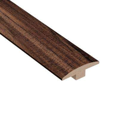 Natural Acacia 3/8 in. Thick x 2 in. Wide x 78 in. Length Hardwood T-Molding