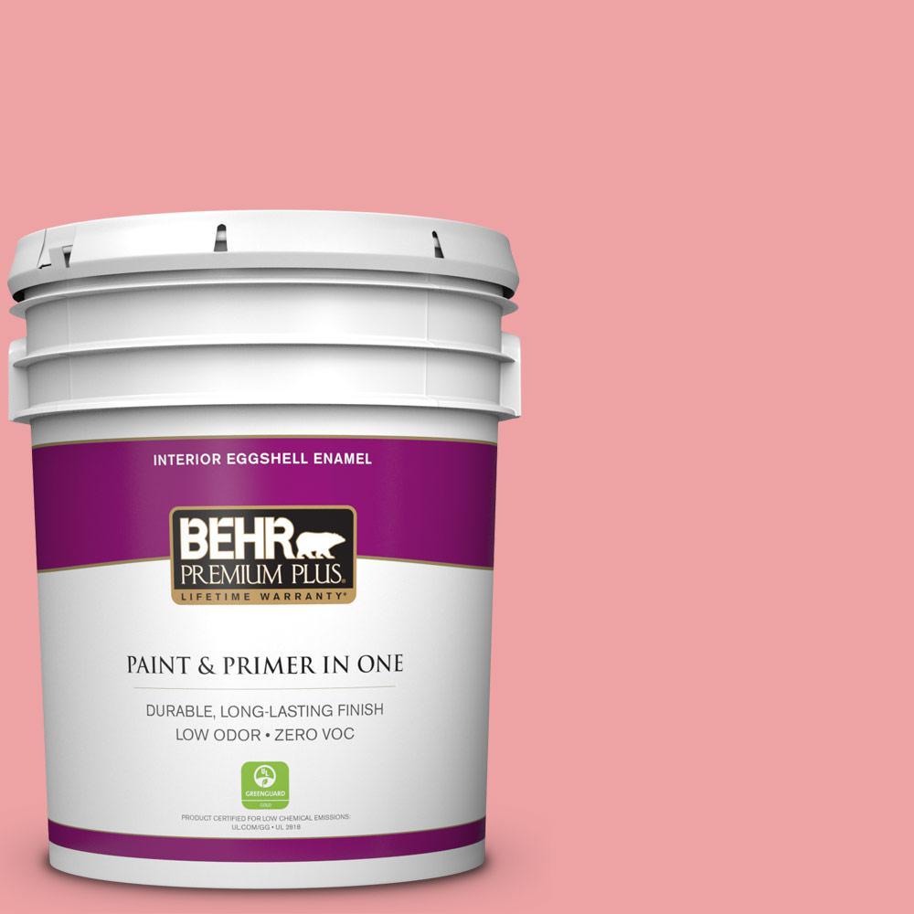 BEHR Premium Plus 5-gal. #P170-3 Infatuation Eggshell Enamel Interior Paint
