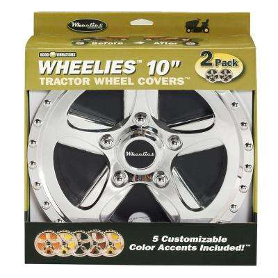Wheelies 10 in. Tractor Wheel Cover