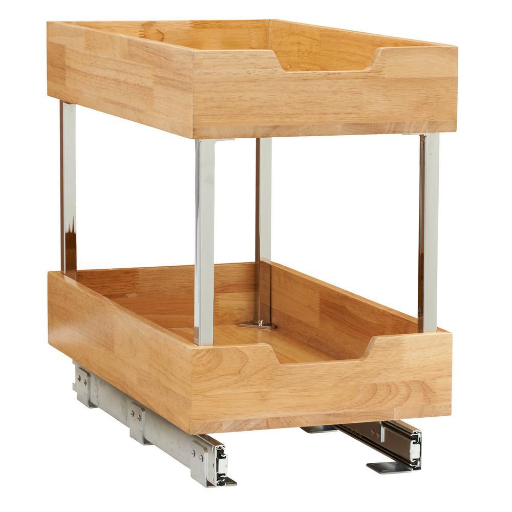 11.5 in. Wood Cabinet Organizer