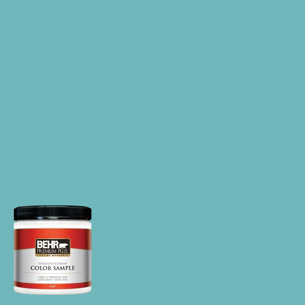 BEHR Premium Plus 8 oz. #510D-5 Surfer Interior/Exterior Paint Sample