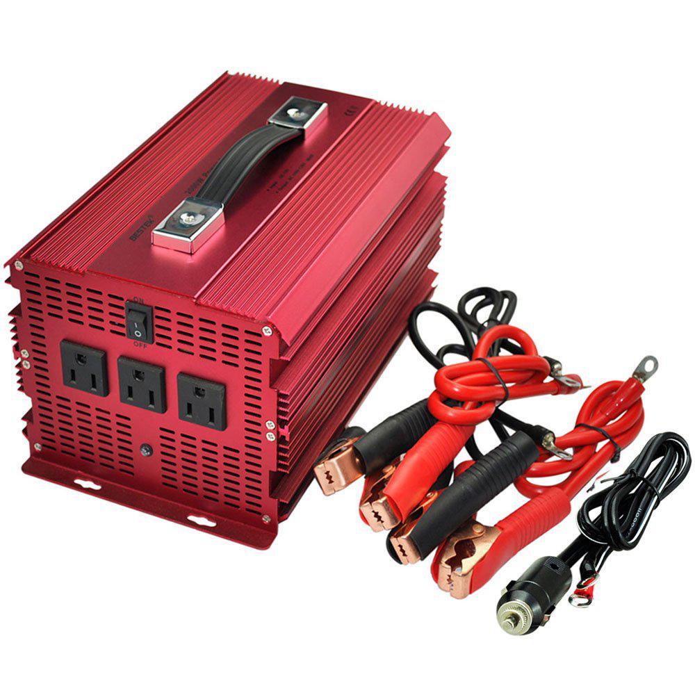 12-Volt DC to AC 2000-Watt Power Inverter