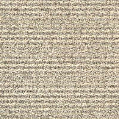 Carpet Sample - Straight N Narrow - Color White Chocolate Loop 8 in. x 8 in.