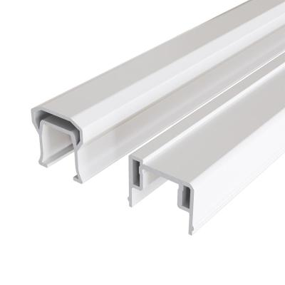 HavenView CountrySide 8 ft. x 36 in. Composite Line Section H-Channel Top Rail, Bottom Rail