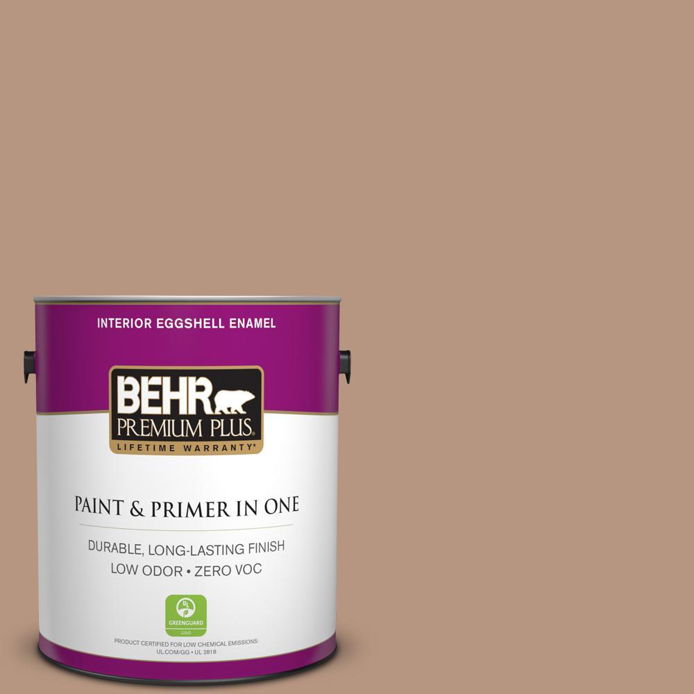 BEHR Premium Plus 1-gal. #S220-4 Potter's Clay Eggshell Enamel Interior Paint