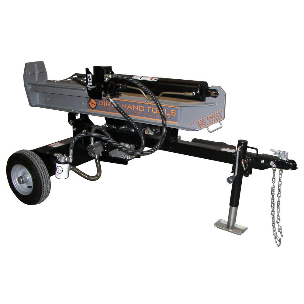 28-Ton Gas Log Splitter