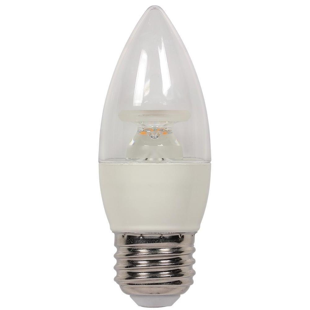 Bulbrite 40w Equivalent Amber Light G25 Dimmable Led: Westinghouse 40W Equivalent Warm White B11 Dimmable LED