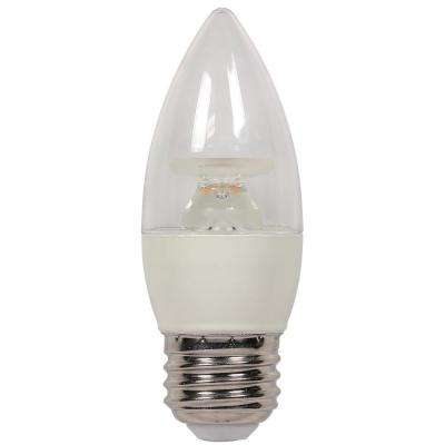 40W Equivalent Warm White B11 Dimmable LED Light Bulb