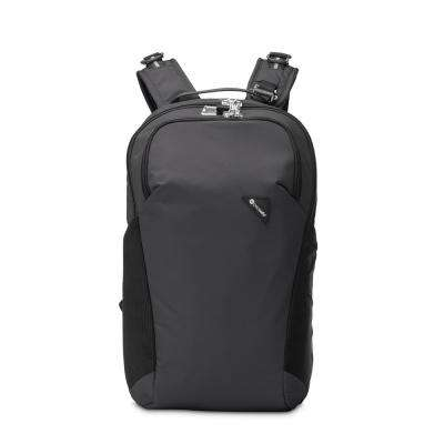 Vibe 18 in. Black Backpack with Laptop Compartment