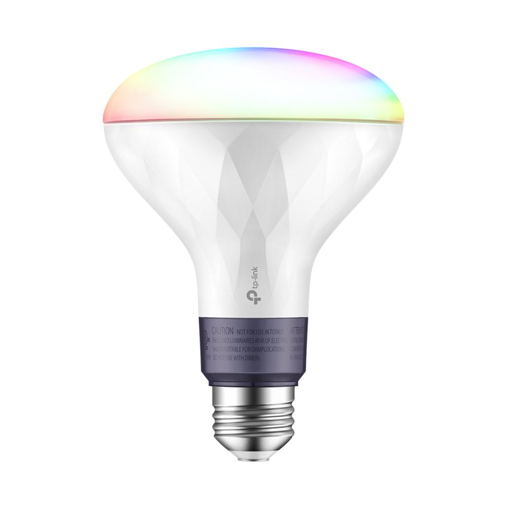 Home Depot Colored Light Bulbs: TP-LINK 80-Watt Equivalent BR30 Dimmable Color Wi-Fi LED