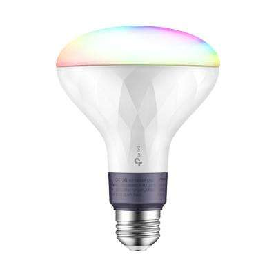 80-Watt Equivalent BR30 Dimmable Color Wi-Fi LED Light Bulb