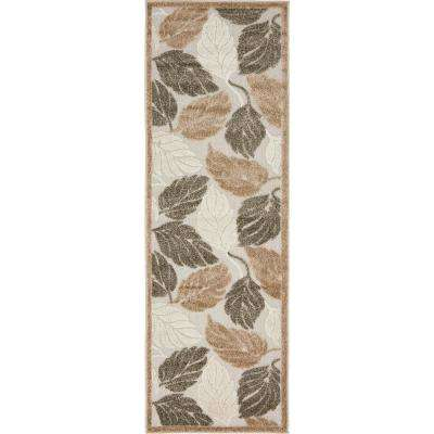Indoor/Outdoor Augusta Beige 2' 0 x 6' 0 Runner Rug