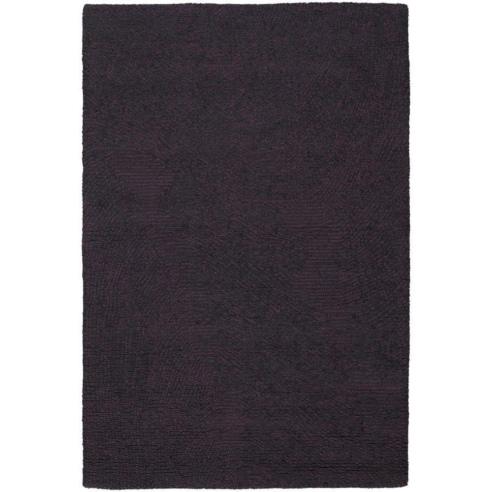 Navyan Purple/Black 5 ft. x 7 ft. 6 in. Indoor Area
