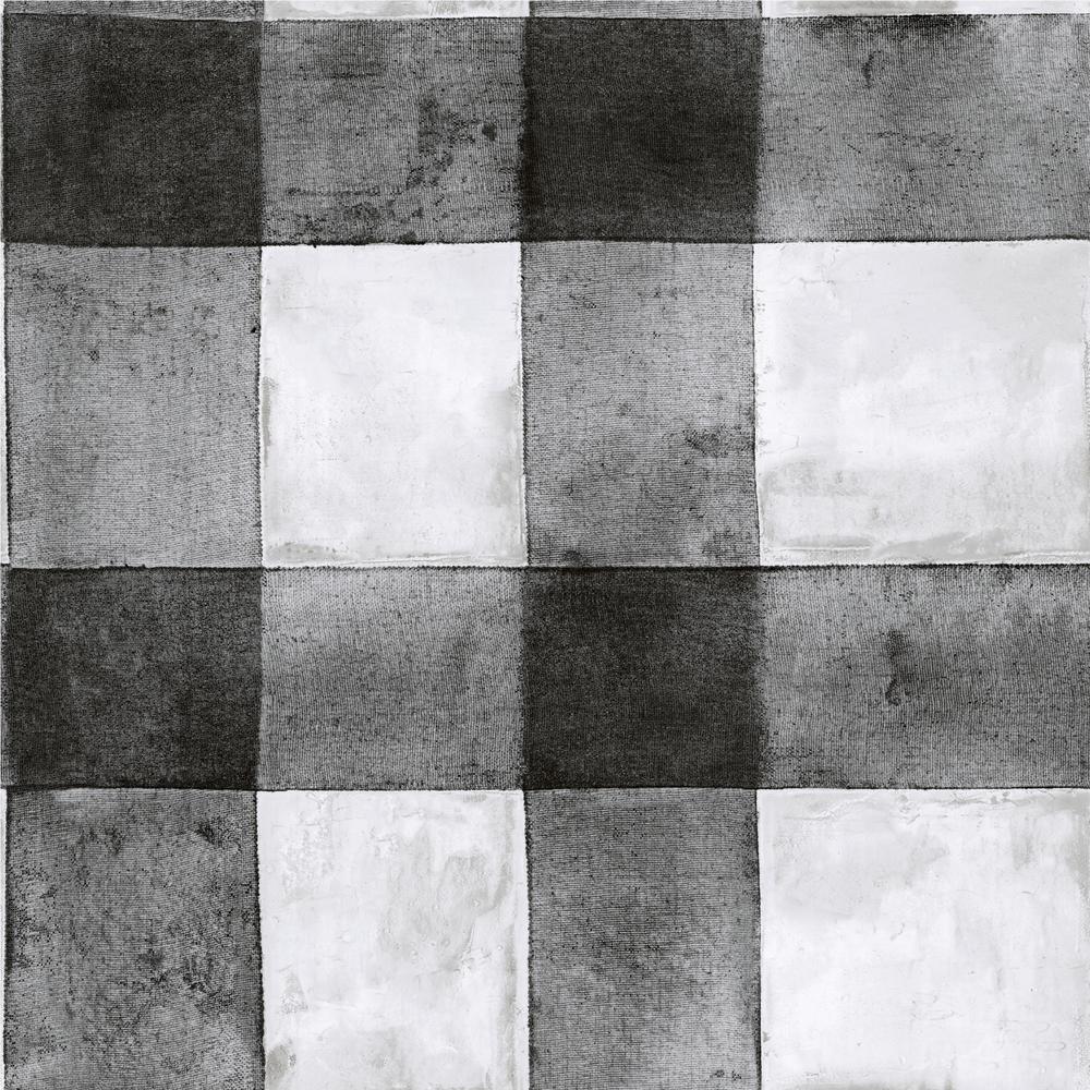 Buffalo Plaid Vinyl Peelable Wallpaper (Covers 28.18 sq. ft.)