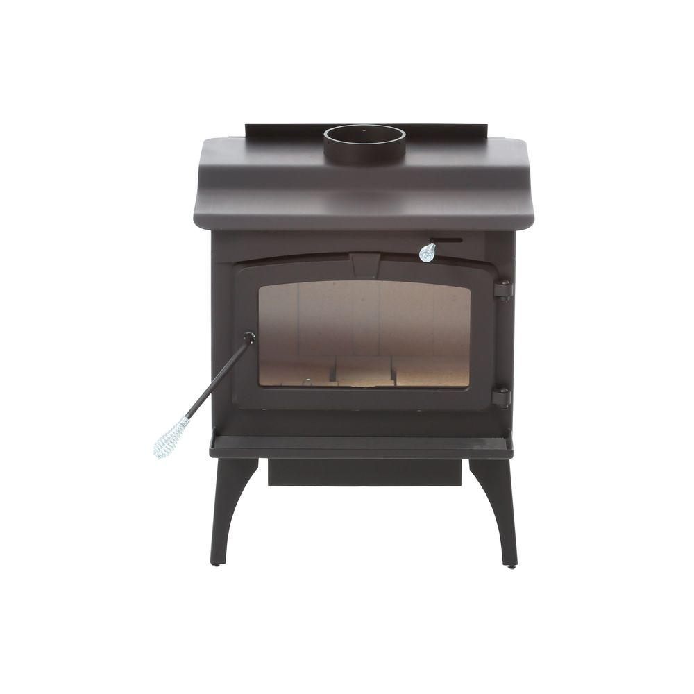 Pleasant Hearth 2,200 sq. ft. EPA Certified Wood-Burning Stove with Blower, Large