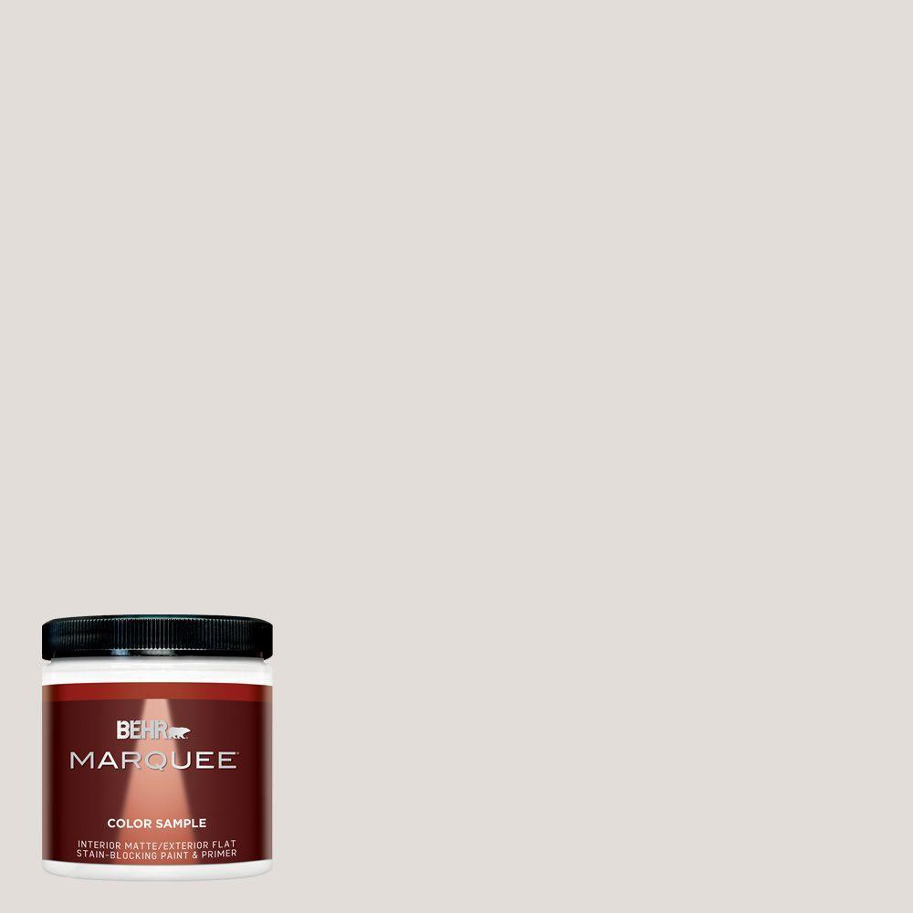 8 oz. #MQ3-33 Creme De La Creme Matte Interior/Exterior Paint and