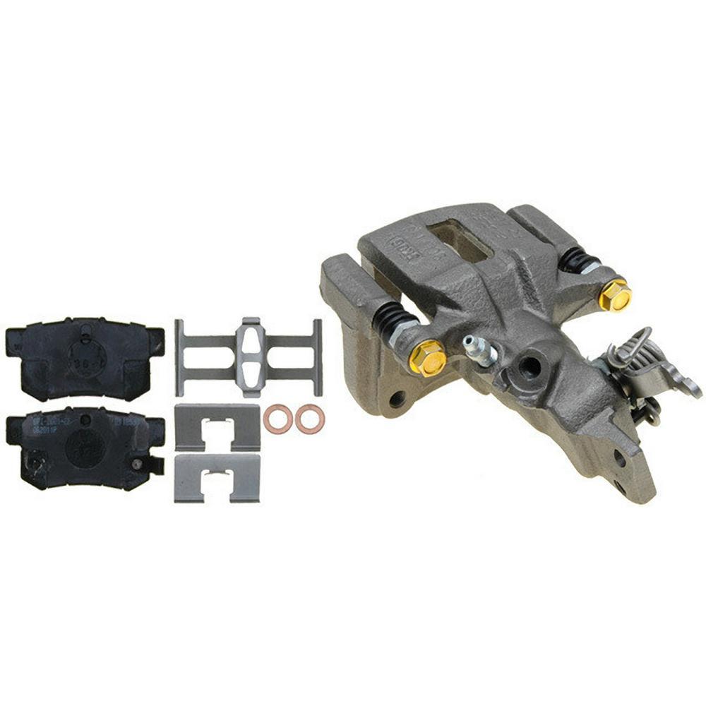 Reman PG Plus Loaded Caliper w/Bracket - Rear Right