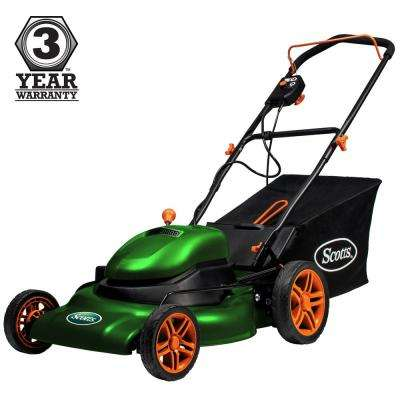 20 in. 12 Amp Corded Electric Walk Behind Push Lawn Mower