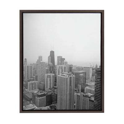 "Sylvie ""Chicago 2"" by F2Images Framed Canvas Wall Art"