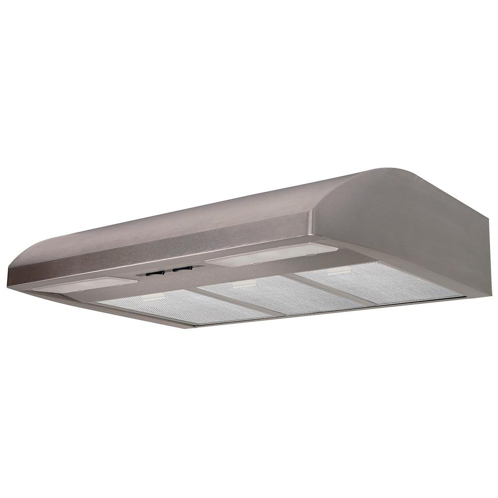 36 in. Convertible California Title 24 Acceptable Under Cabinet Range Hood