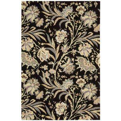 Gatsby Black 8 ft. x 10 ft. 6 in. Area Rug