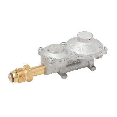 2-Stage Propane Gas RV Regulator with POL Valve Connection