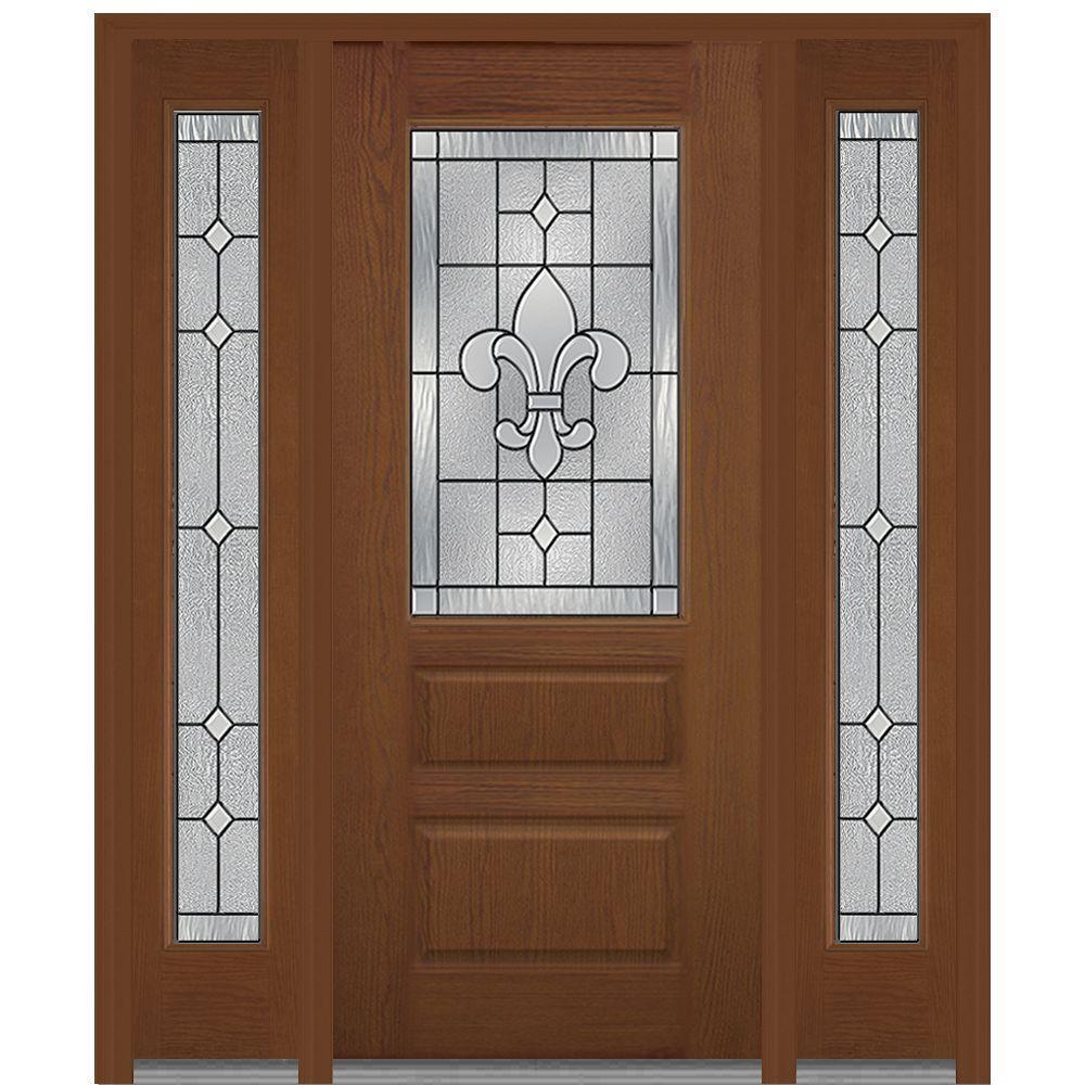 MMI Door 60 In. X 80 In. Carrollton Left Hand 1/2