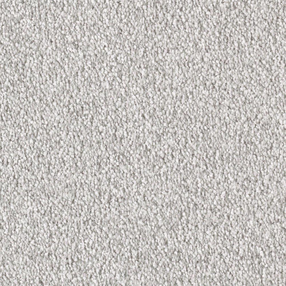 Silver Mane II - Color Dover Cliffs Texture 12 ft. Carpet