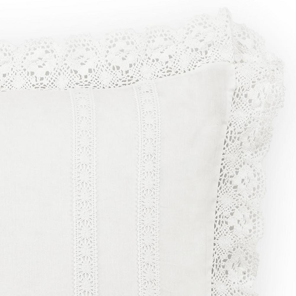 Annabella Solid Cotton Euro Sham (Set of 2)