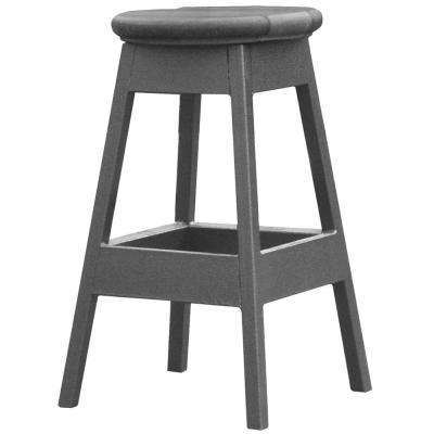 14 in. x 14 in. x 24 in. Bar Stool in Mist for Spa Bar