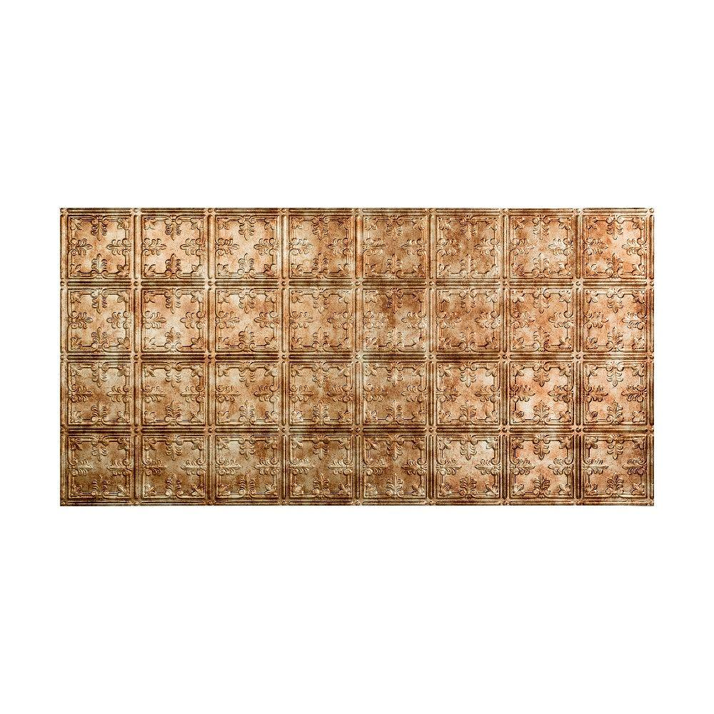 Traditional 10 - 2 ft. x 4 ft. Glue-up Ceiling Tile