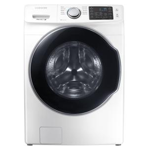 Samsung 4.5 cu. ft. High Efficiency Front Load Washer with Steam (White)