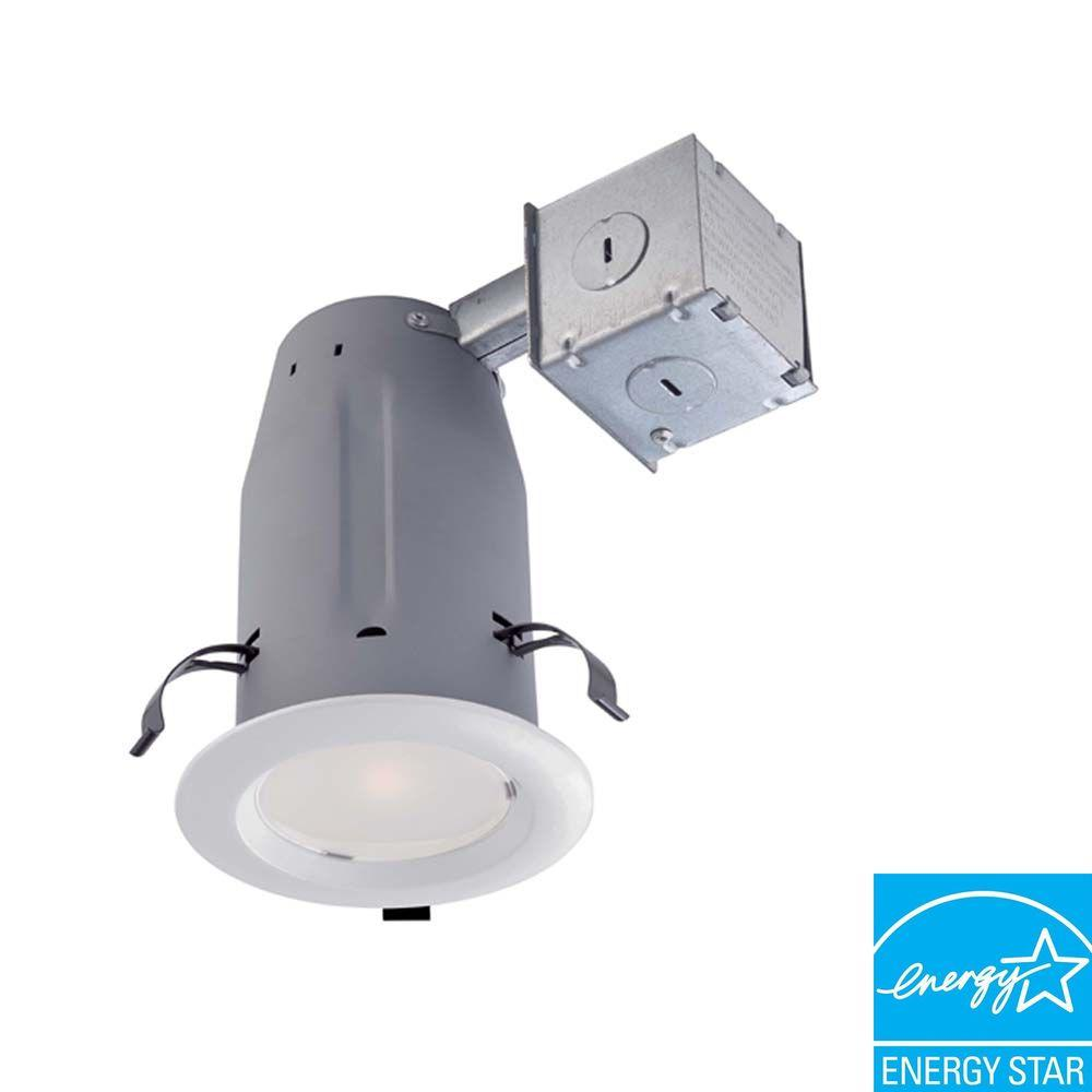 3 in. White LED Recessed Baffle Kit