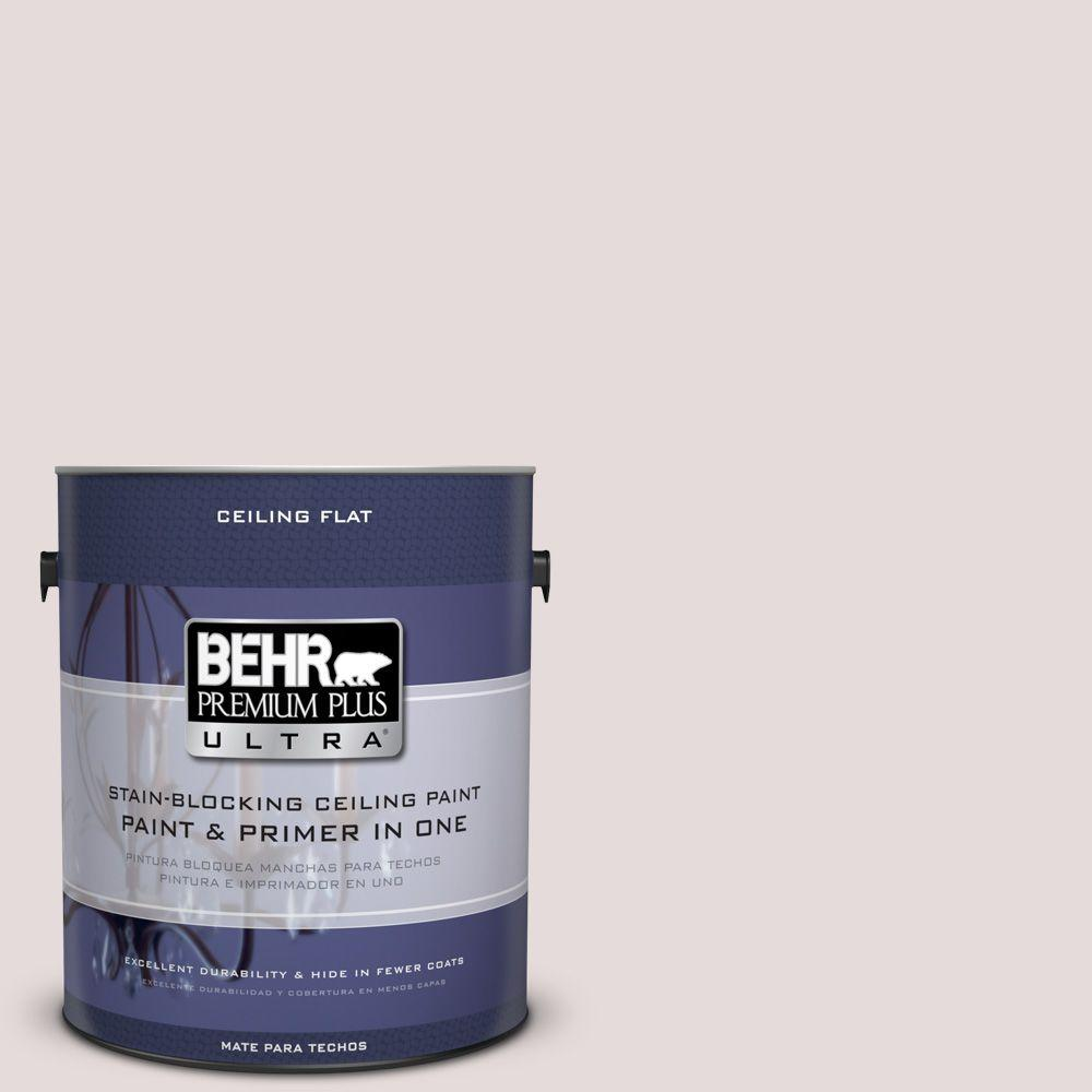 BEHR Premium Plus Ultra 1-Gal. No.UL250-12 Ceiling Tinted to Crushed Peony Interior Paint