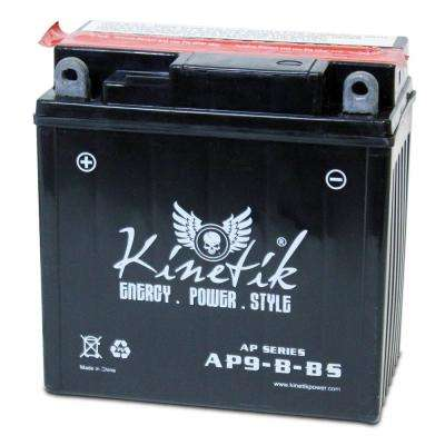 Dry Charge AGM 12-Volt 9 Ah Capacity F Terminal Battery