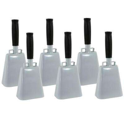 10 in. Customizable Cowbell Set (6-Piece)