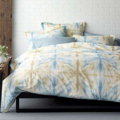 Synergy Tie-Dye Organic Twin Duvet Cover