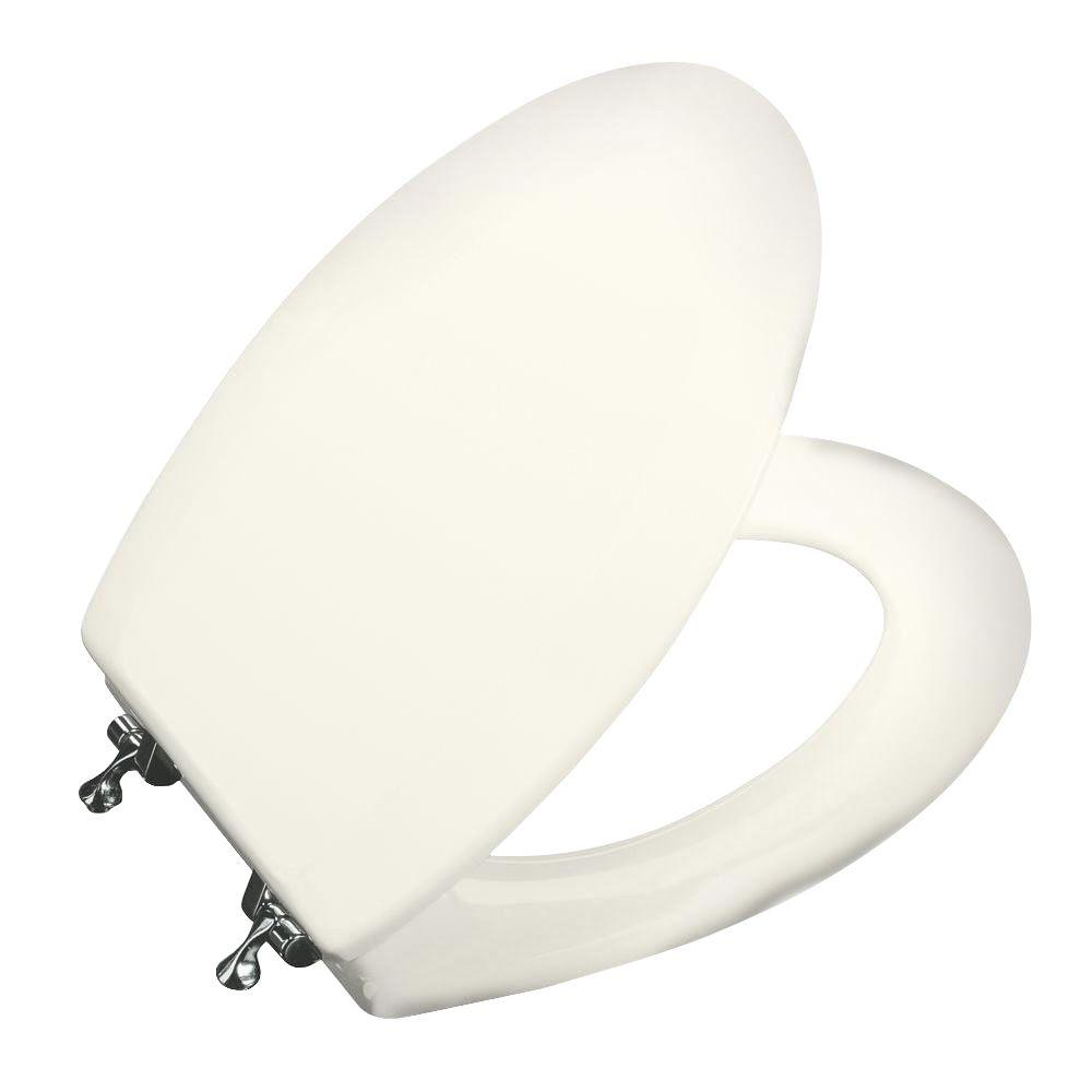 Kohler Triko Elongated Closed Front Toilet Seat In Biscuit
