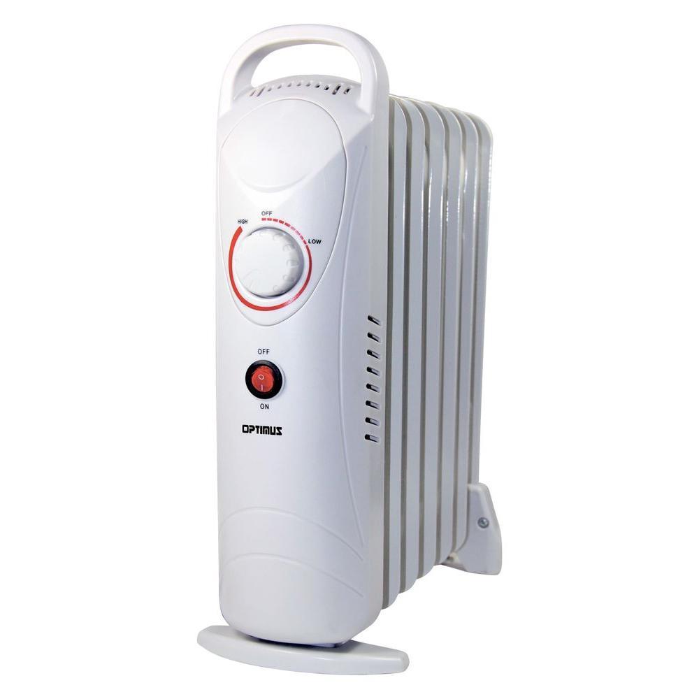 700-Watt Electric Oil-Filled Radiant Portable Heater