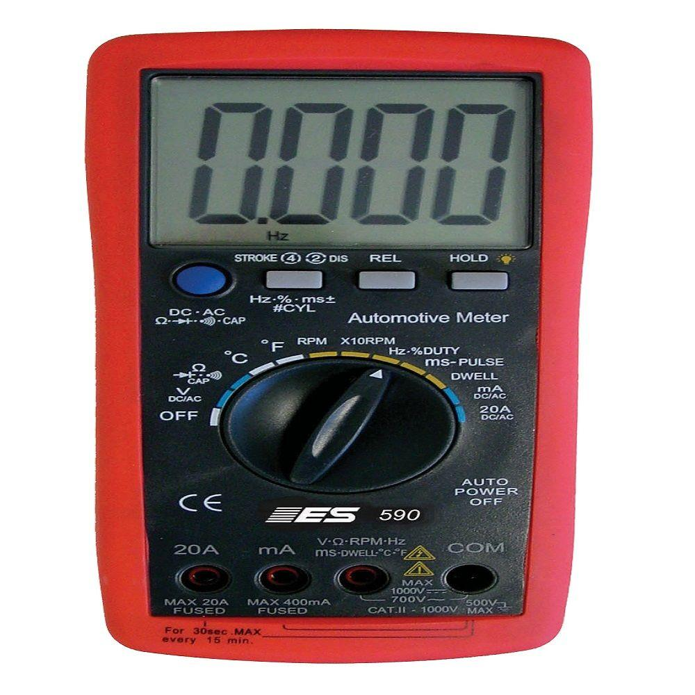 590 Professional Automotive Meter
