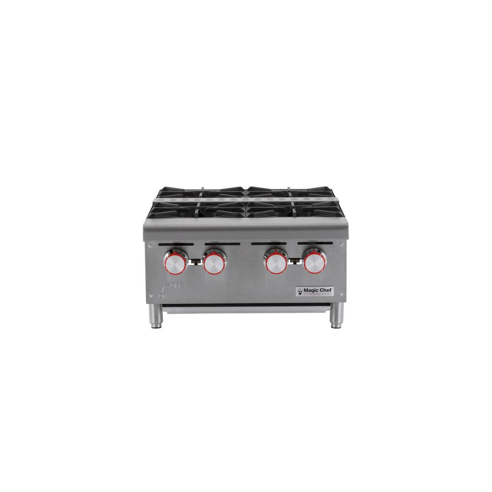 Magic Chef Commercial 24 in. Countertop Gas Hot Plate