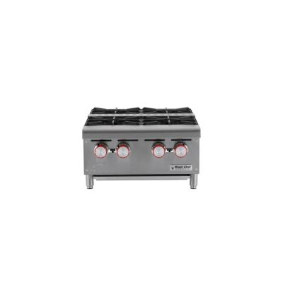 Commercial 24 in. Countertop Natural Gas Hot Plate