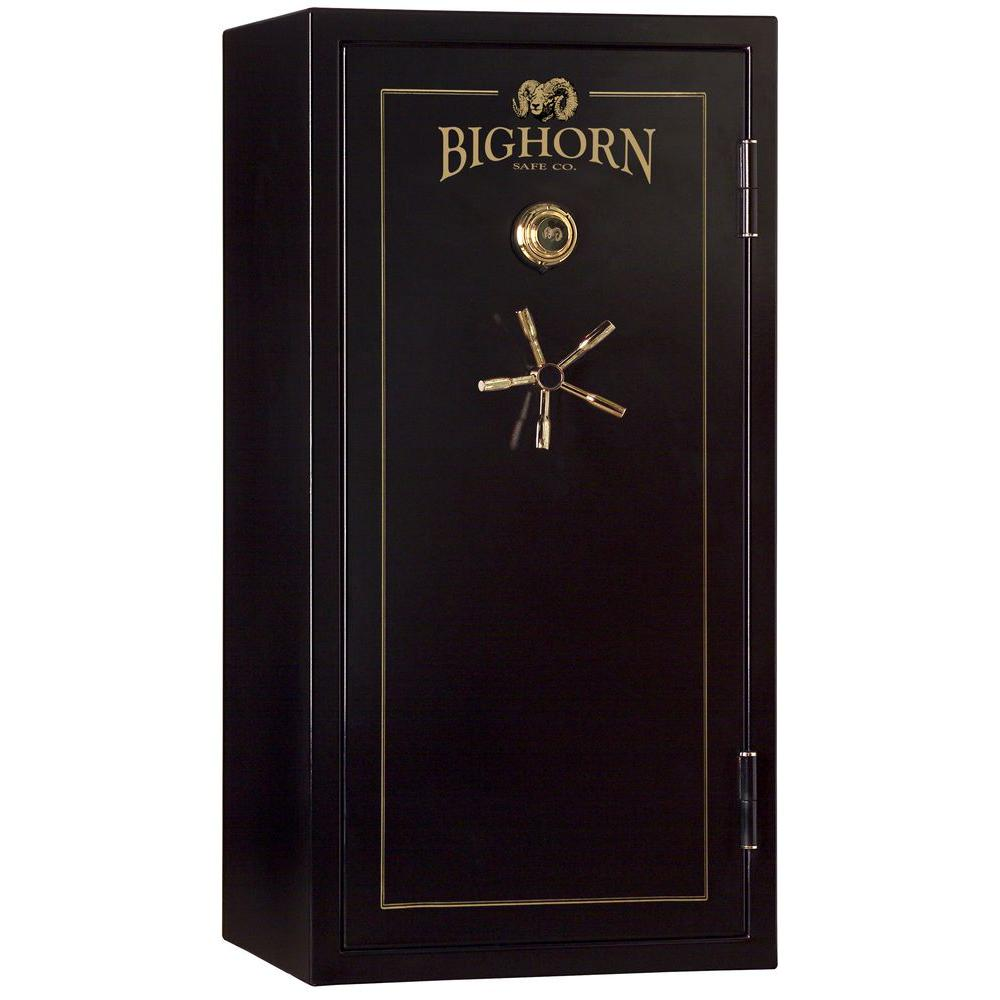 Bighorn Safe 700 lb. 24 cu. ft. 26 Gun 70 Minute UL Listed Heavy Duty Safe with Manual Lock-DISCONTINUED