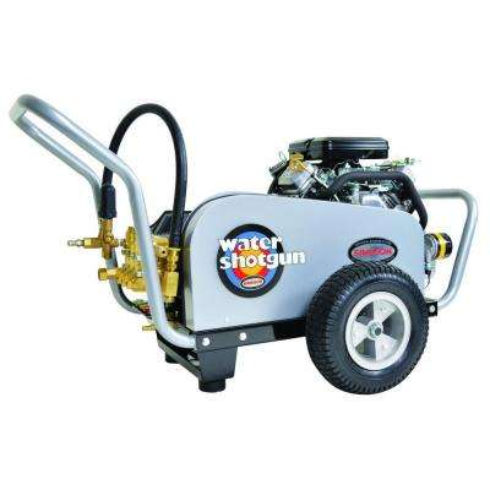 Water Shotgun 4,000 psi 5.0 GPM Belt Drive Gas Pressure Washer Powered by Vanguard