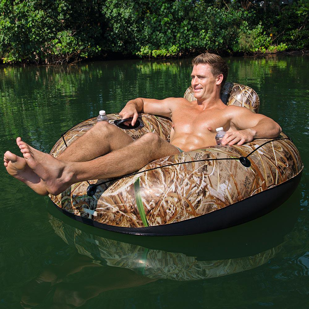 Realtree Lake Runner X Inflatable Tube for Swimming Pools