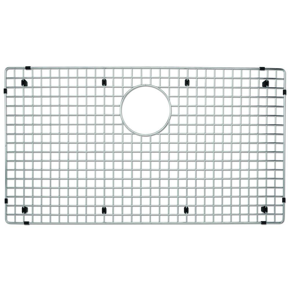 Superb Blanco Stainless Steel Sink Grid Fits Precision And Precision 10 Super  Single Bowl