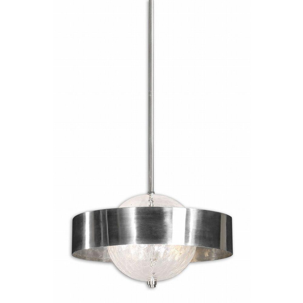 Global Direct Rimini 3-Light Silver Pendant-DISCONTINUED